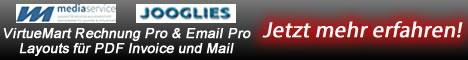 VirtueMart E-Mail Pro und VirtueMart Rechnung Pro