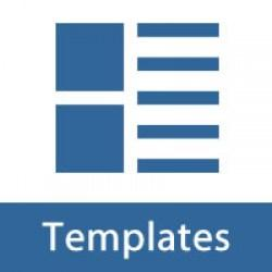 Templates, Layouts, Themes