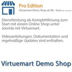 Virtuemart Demo Shop, Virtuemart, Joomla, VM2, ecommerce, Support, Download, Schnellstart, Update, Joomla Online Shop